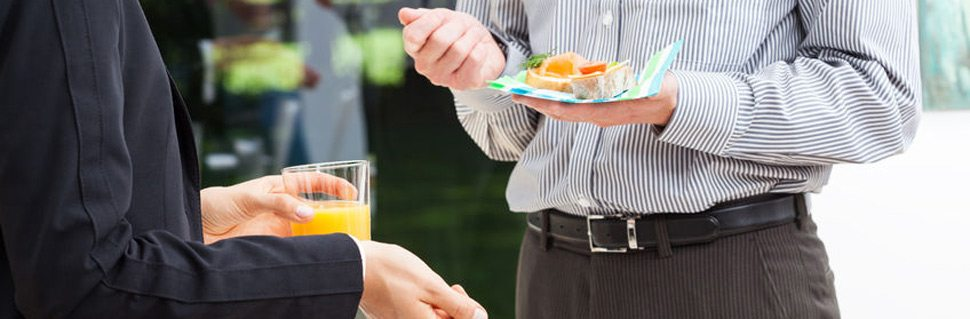Choose our corporate catering package for your business near Rockville, MD.
