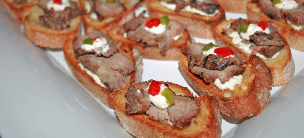 steak and blue crostini (3)