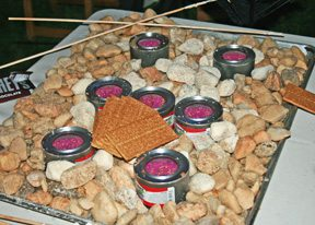 Indoor s'mores bar- Corporate Catering and Disaster Catering- East Coast Rockville MD