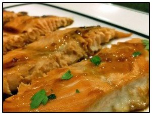 Simply Fresh Events Grilled Salmon