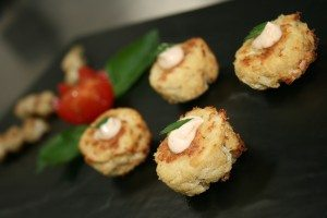 Crab cake apps